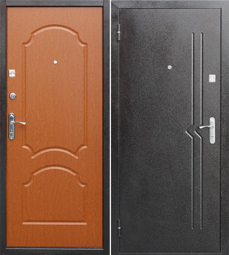 мдф 4 металлическая дверь